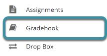 Select Gradebook from you site's tool menu