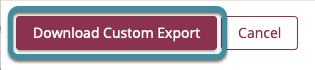 Select download custom export
