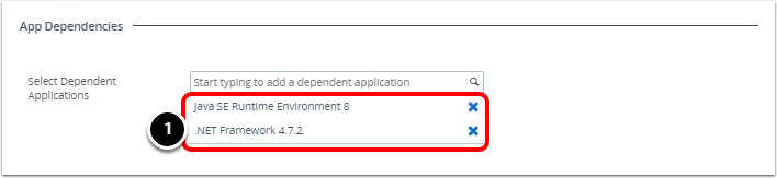 Reviewing the Application Dependency