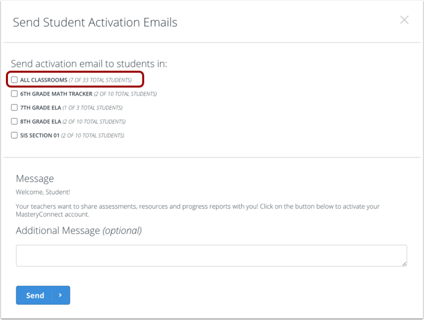 Select Email Details