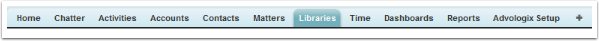 Libraries TAB