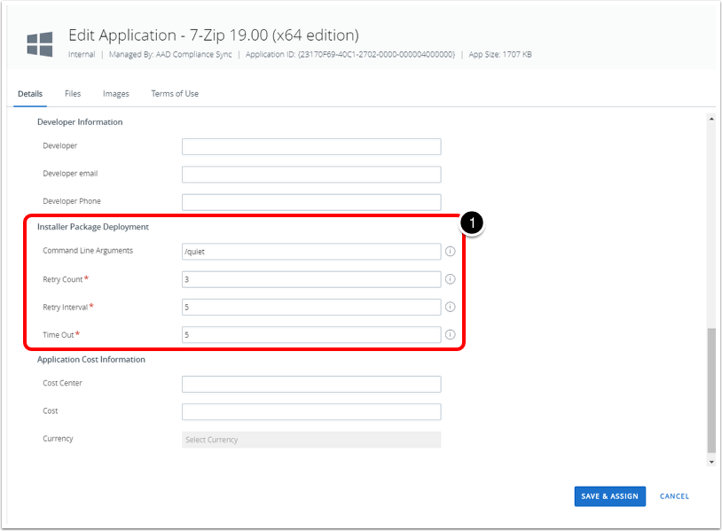 Confirming Software Package Deployment Enabled for Workspace ONE UEM Cloud
