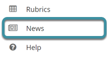 Select News from your site's Tool Menu