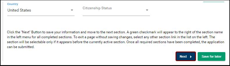 Citizenship section