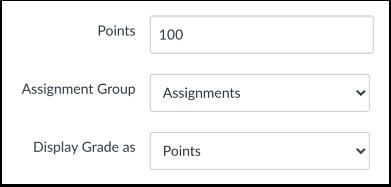 Enter Assessment Points