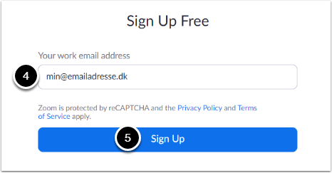 Sign Up Free - Zoom – Google Chrome