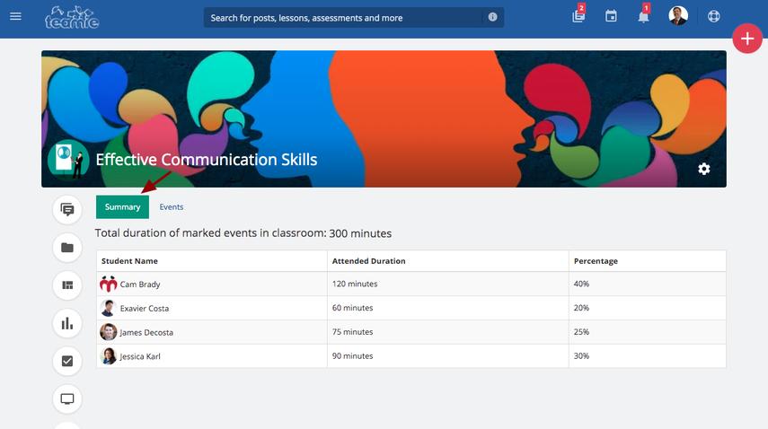(1) Newsfeed | Effective Communication Skills | Teamie Demo