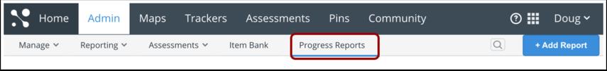 Open Progress Reports