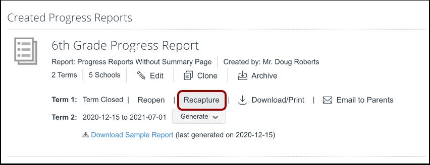 Locate Report