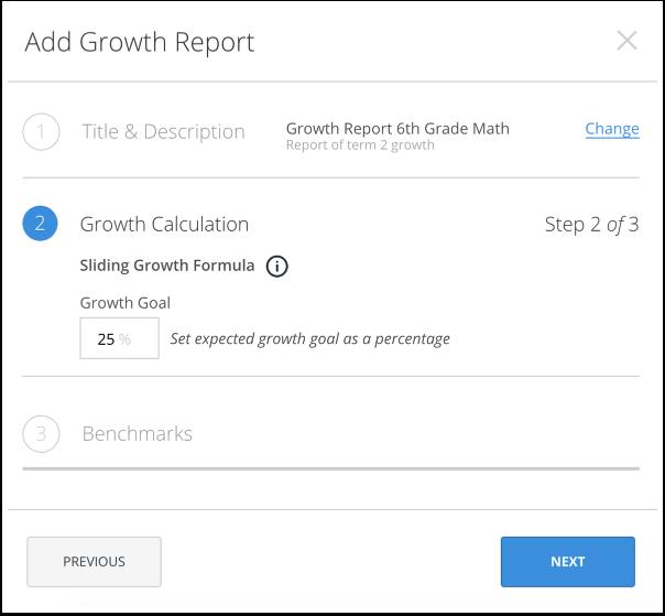 Add Growth Goal