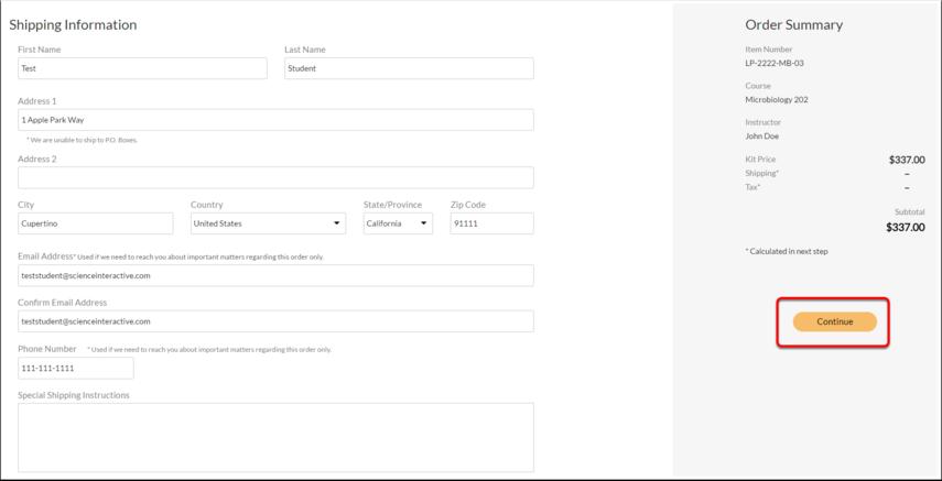 HOL - Purchase Kit - Google Chrome