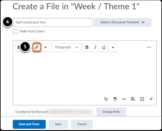 create a file view