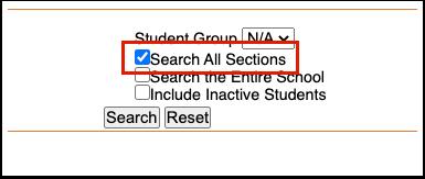 Student Academic Report