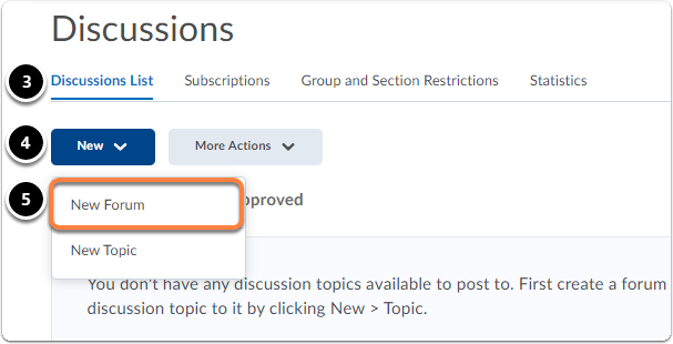 discussions homepage