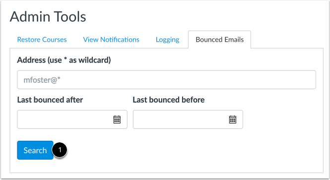 Search Bounced Emails