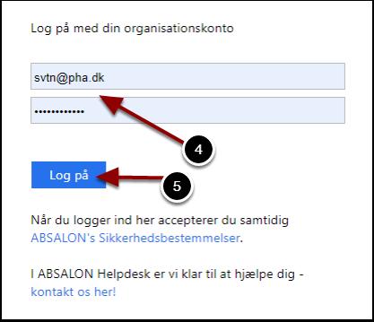 Log på – Google Chrome