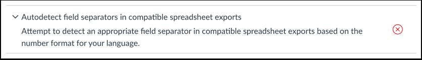 Autodetect Field Separators in Gradebook Exports