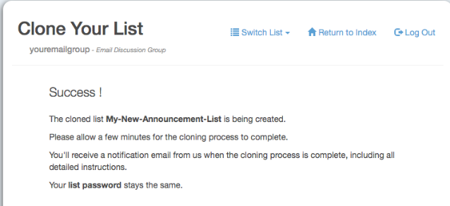 After you see this screen, look for an email in your inbox that is the QuickStart Manual