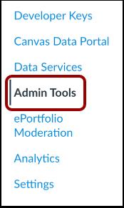 Abrir herramientas del administrador