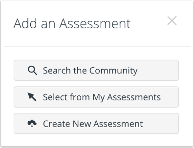Open Assessment Search
