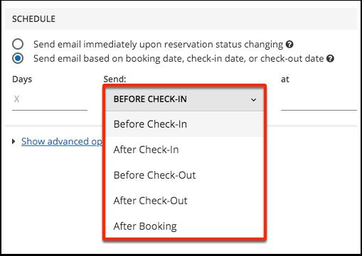 [Demo] Bali Jungle, Resort - Email Scheduling