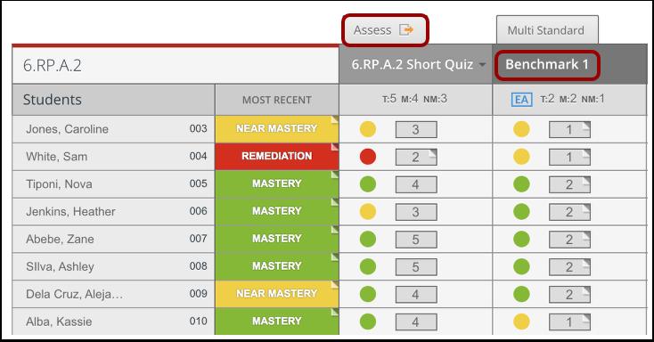 Open Assessment Details