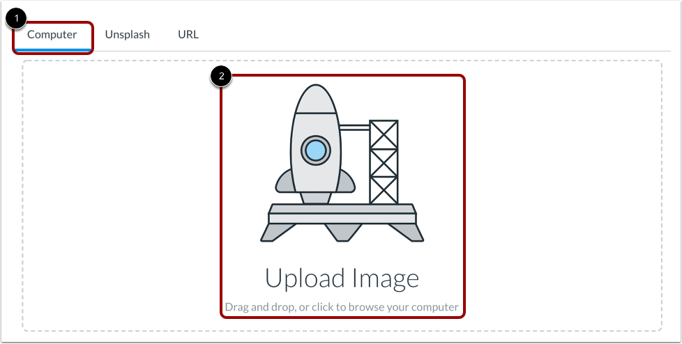 Upload Image from Computer