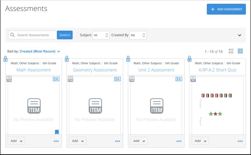 Open Assessment Distribution Options