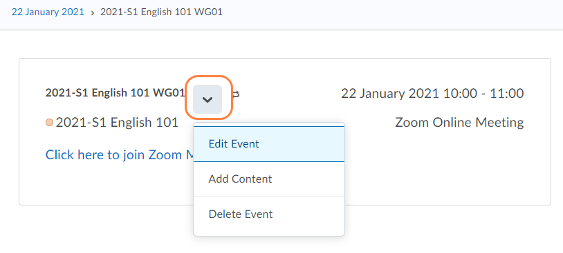How can I set up separate Zoom meetings within a Brightspace Course? | Zoom | Instructors - English | TOC | Support site - Brightspace | ScreenSteps - Google Chrome