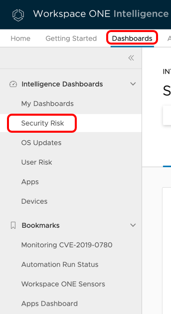 Identify alerts from Carbon Black in Workspace ONE Intelligence
