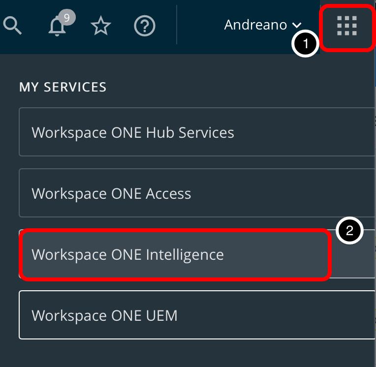 Devices > Dashboard (confer app, security risk, suspicious activity, suspicious package