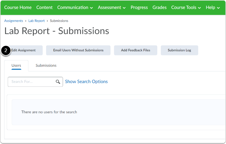 Lab Report - Submissions - Test course environment - Wageningen University & Research - Google Chrome