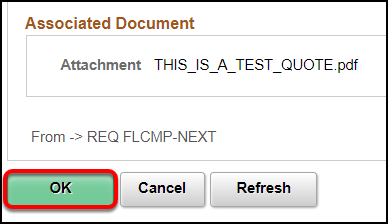 Associated Document save