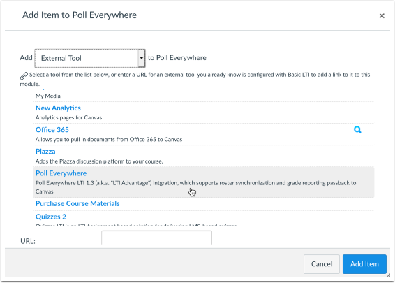 Poll Everywhere LTI 1.3 Test — (Private Browsing)