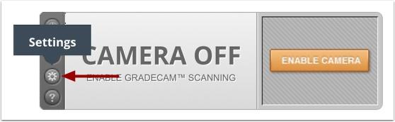 GradeCam Camera Settings