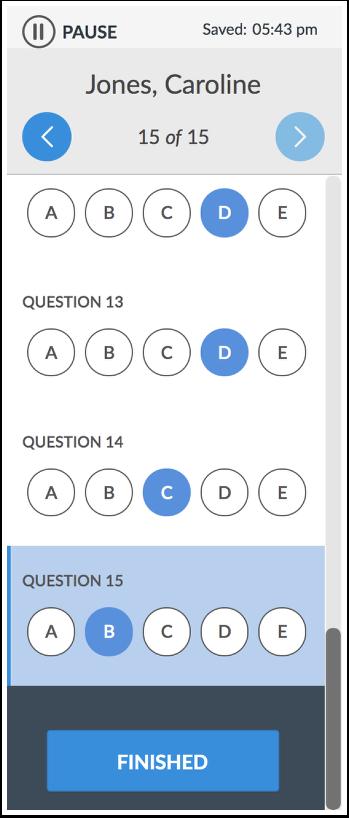 Deliver Benchmark Assessment