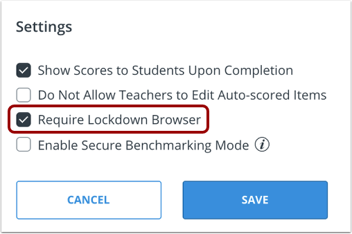 Activate LockDown Browser