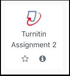Turnitin assignment icon