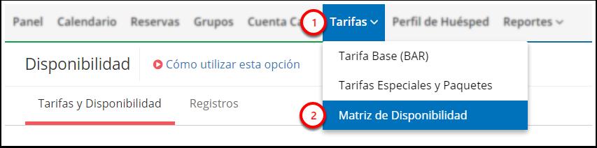 DEMO - El Bolsón - Matriz de Disponibilidad - Google Chrome
