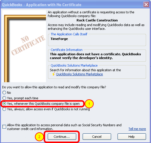 Open Your QuickBooks Company File