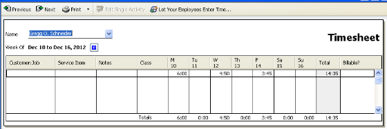 Your Timesheets are imported!