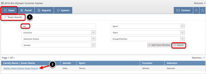 Find Contact Profile