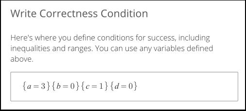 Write Correctness Condition