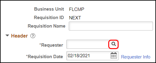 blank Requester
