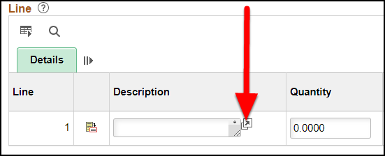 Open description display