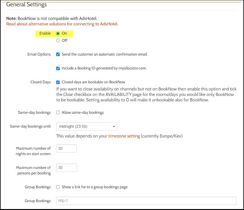 Manage - Book Now - Settings - myallocator.com - Google Chrome