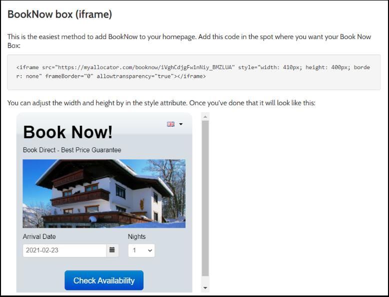 Manage - BookNow - Integration - myallocator.com - Google Chrome