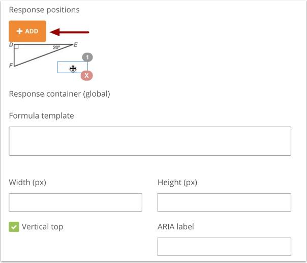 Configure Response Positions