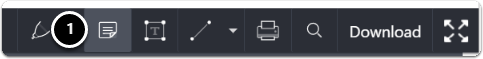 Comment tool bar