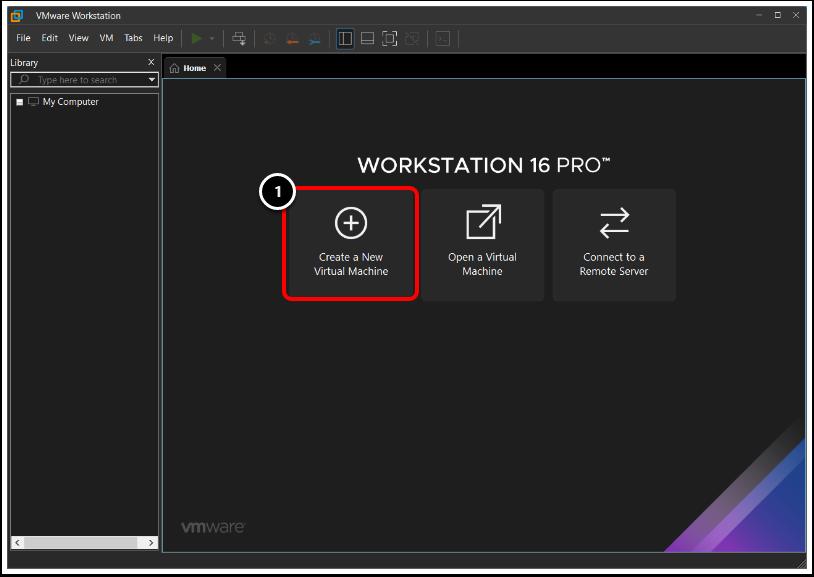 Create a New Windows 10 Virtual Machine in VMware Workstation.
